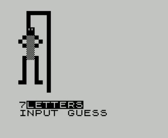 Hangman ZX81 Cassette 50