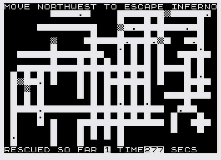 Inferno (ZX81 Cassette 50 Game 33)
