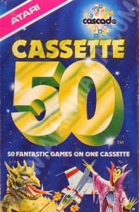 Atari 8 bit Cassette 50 cover