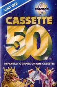 Vic-20 Cassette 50 cover