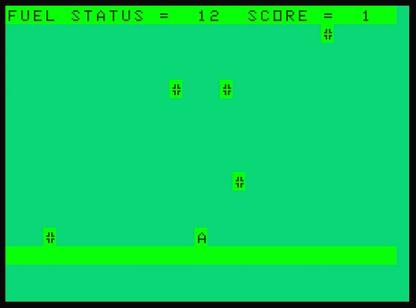 Space Mission, Dragon 32. 1983 Version.