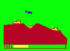 Space Mission, Dragon 32. 1984 Version.